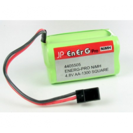 JP AA-1300-4.8V - ENERG-PRO NIMH 4.8V AA-1300 SQUARE JP-4405505