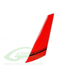 H0881-S - Composite Top Tail Fin - Goblin Comet