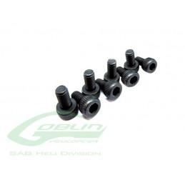 HC002-S - Socket Head Cap M2x5 - GOBLIN 380 a COMET