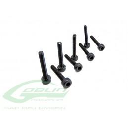 HC014-S - Socket Head Cap M2 x 12 (8pcs) - Goblin 500 a 570 KSE