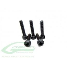 HC022-S - Socket Head Cap M2.5 x 10 (5pcs) - Goblin 380 a 570 KSE