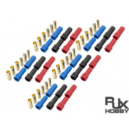 RJX1026 - XT150 Connector - Male and Female x 5sets (15 pairs)