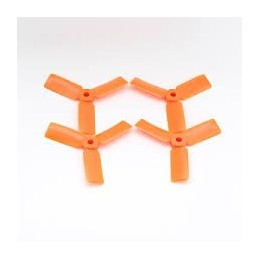 T3030BNO - Helices DALPROP 3030 tripale Bullnose (2CW et 2 CCW) ORANGE
