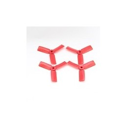 T3030BNR - Helices DALPROP 3030 tripale Bullnose (2CW et 2 CCW) ROUGE