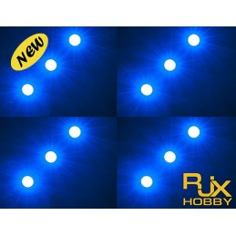 RJX Night Flight LED Wire(29.5mmx7.2mm) BLUE