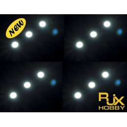 RJX Night Flight LED Wire(29.5mmx7.2mm)  WHITE