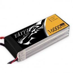 TATTU BATTERIE LIPO 4S1P 16000MAH 14.8V 15C