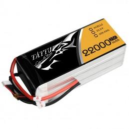 TATTU BATTERIE LIPO 6S1P 22000MAH 22.2V 25C