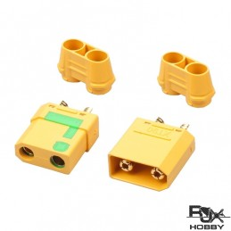 XT90 Connector Yellow - Male and Female x 1 paire