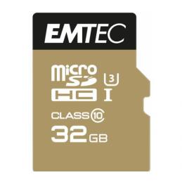 MICROSDHC 32GO EMTEC SPEEDIN CL10 95MB/S FULLHD 4K ULTRAHD - SOUS BLISTER - 13574