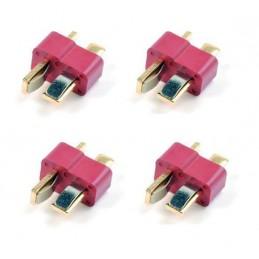 GF-1006-002 - CONNECTEURS DEANS MALE (4 PCS)