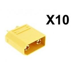 Lot de 10 connecteurs XT90...