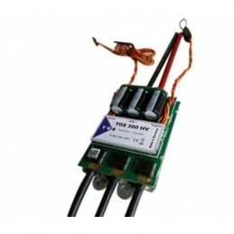 Controleur Brushless YGE 200A High Voltage