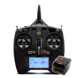 SPM6655EU - DX6e DSMX 6 VOIES MODE 2 + RÉCEPTEUR AR620 - SPEKTRUM