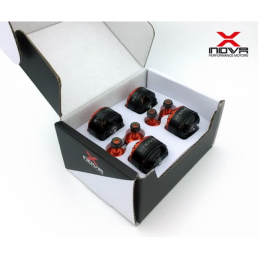 XNOVA 1806-2300 KV FPV 4 MOTEURS SUPERSONIC RACING COMBO