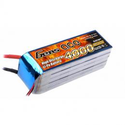 GENS ACE BATTERIE LIPO 5S1P 4000MAH 18.5V 25C