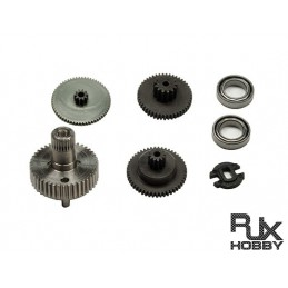 RJX SERVO FS1040HV AND BLS1040HV servo gear sets
