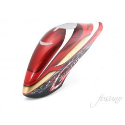 FUSUNO Iron Man Airbrush Fiberglass canopy Goblin 380